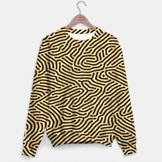 Thumbnail image of Gold pattern Sweater, Live Heroes