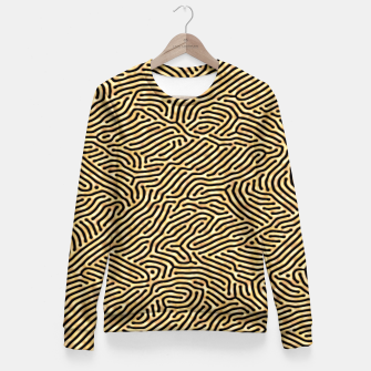 Miniaturka Gold pattern Fitted Waist Sweater, Live Heroes