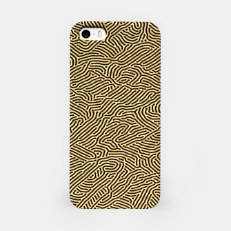 Thumbnail image of Gold pattern iPhone Case, Live Heroes