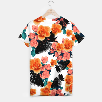 Thumbnail image of STRAWBERRIES & FLOWERS T-shirt, Live Heroes