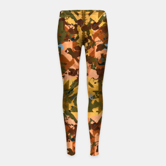 Thumbnail image of Handplant Girl's Leggings, Live Heroes
