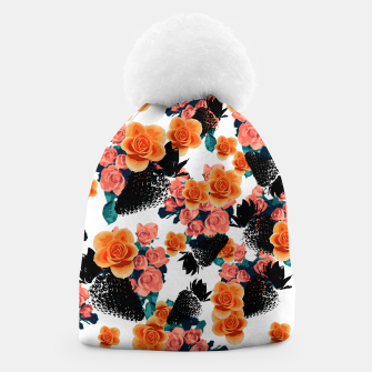Thumbnail image of STRAWBERRIES & FLOWERS Beanie, Live Heroes