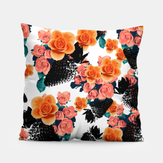 Thumbnail image of STRAWBERRIES & FLOWERS Pillow, Live Heroes