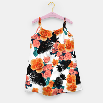 Thumbnail image of STRAWBERRIES & FLOWERS Girl's Dress, Live Heroes