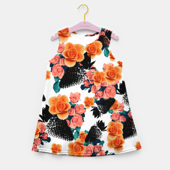 Thumbnail image of STRAWBERRIES & FLOWERS Girl's Summer Dress, Live Heroes