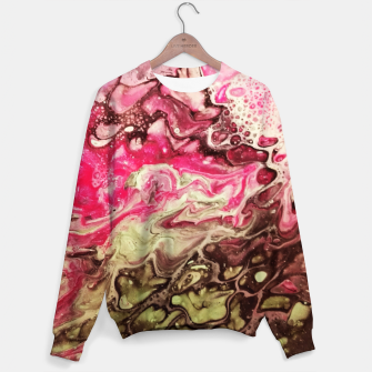 Thumbnail image of Pink green Sweater, Live Heroes