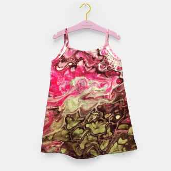 Thumbnail image of Pink green Girl's Dress, Live Heroes