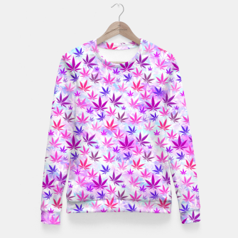 Miniaturka Crystal Weed Fitted Waist Sweater, Live Heroes
