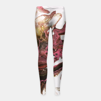 Thumbnail image of Fluity Girl's Leggings, Live Heroes