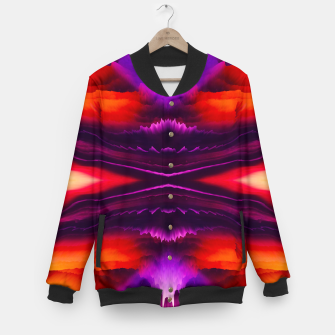 Thumbnail image of Abstract Purple Eruption College-Jacke, Live Heroes