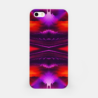 Thumbnail image of Abstract Purple Eruption iPhone-Hülle, Live Heroes
