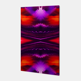 Miniaturka Abstract Purple Eruption Canvas, Live Heroes