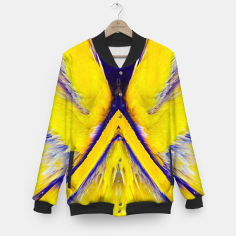 Thumbnail image of Abstract Yellow Eruption College-Jacke, Live Heroes