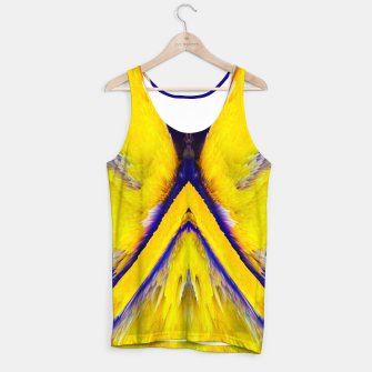 Thumbnail image of Abstract Yellow Eruption Muskelshirt , Live Heroes