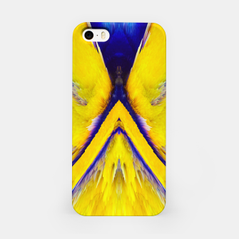 Thumbnail image of Abstract Yellow Eruption iPhone-Hülle, Live Heroes