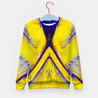 Miniaturka Abstract Yellow Eruption Kindersweatshirt, Live Heroes