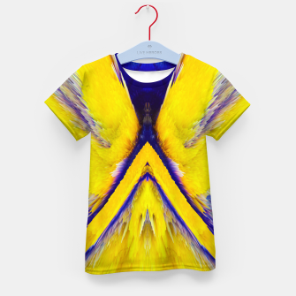 Thumbnail image of Abstract Yellow Eruption T-Shirt für Kinder, Live Heroes