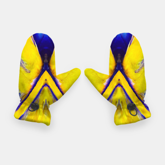 Thumbnail image of Abstract Yellow Eruption Handschuhe, Live Heroes