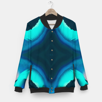 Thumbnail image of Abstract Blue Eruption College-Jacke, Live Heroes