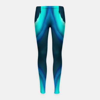 Thumbnail image of Abstract Blue Eruption Kinder-Leggins, Live Heroes