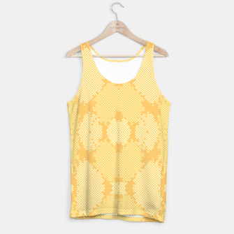 Thumbnail image of Yellow Abstract Pattern Muskelshirt , Live Heroes