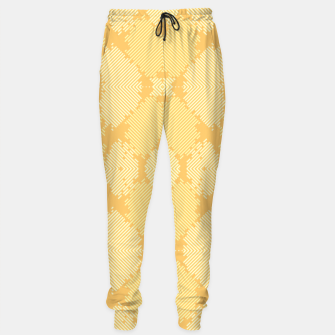 Thumbnail image of Yellow Abstract Pattern Trainingshose, Live Heroes