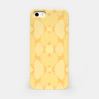 Thumbnail image of Yellow Abstract Pattern iPhone-Hülle, Live Heroes