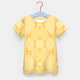 Thumbnail image of Yellow Abstract Pattern T-Shirt für Kinder, Live Heroes