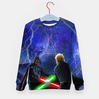 Thumbnail image of star wars last jedi Kid's Sweater, Live Heroes