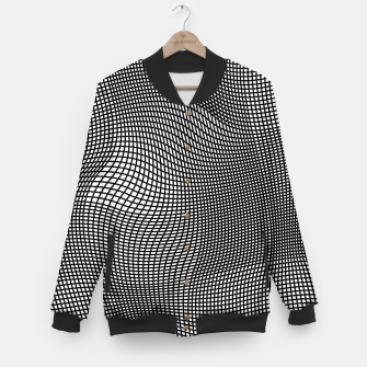 Thumbnail image of Abstract Op-Art Design College-Jacke, Live Heroes