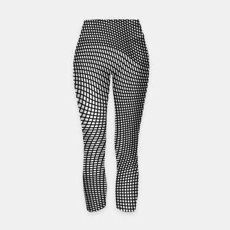 Thumbnail image of Abstract Op-Art Design Yogahose, Live Heroes