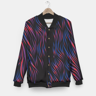 Thumbnail image of Colorful Abstract Pattern College-Jacke, Live Heroes