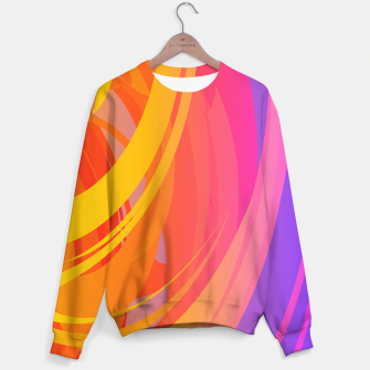 Thumbnail image of Abstract Colorful Pattern Sweatshirt, Live Heroes