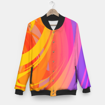 Thumbnail image of Abstract Colorful Pattern College-Jacke, Live Heroes