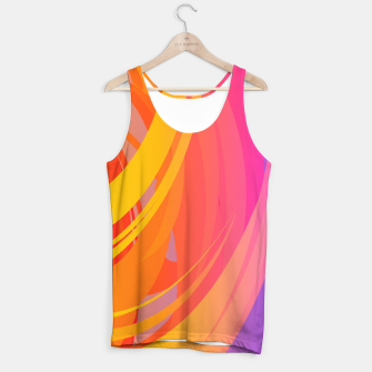 Thumbnail image of Abstract Colorful Pattern Muskelshirt , Live Heroes