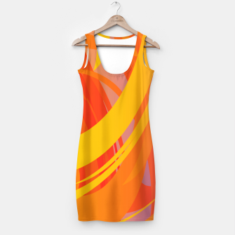 Miniaturka Abstract Colorful Pattern Kleid, Live Heroes