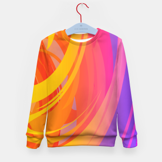Miniaturka Abstract Colorful Pattern Kindersweatshirt, Live Heroes