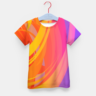 Thumbnail image of Abstract Colorful Pattern T-Shirt für Kinder, Live Heroes