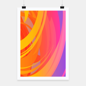 Miniaturka Abstract Colorful Pattern Plakat, Live Heroes