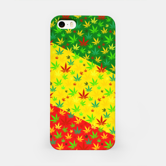 Thumbnail image of Rasta Weed iPhone Case, Live Heroes