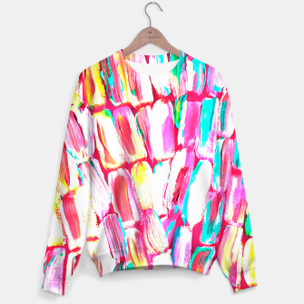 Thumbnail image of Pink Party Sugarcane Sweater, Live Heroes