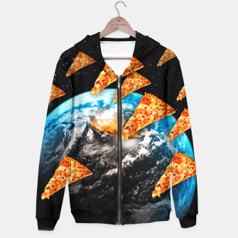 Thumbnail image of Pizza Invaders Hoodie, Live Heroes