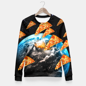 Miniaturka Pizza Invaders Fitted Waist Sweater, Live Heroes