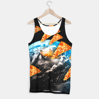 Miniatur Pizza Invaders Tank Top, Live Heroes