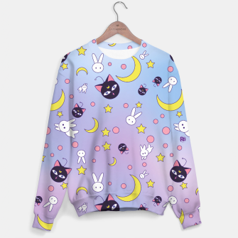 Thumbnail image of Sailor Moon Luna P pattern Sweater, Live Heroes