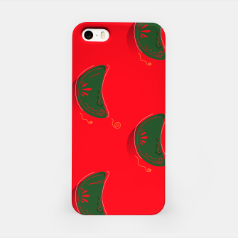 Imagen en miniatura de iPhone eatable Designers Case : Mandarins Red Green, Live Heroes