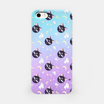 Imagen en miniatura de Sailor Moon Violet Luna P pattern iPhone Case, Live Heroes