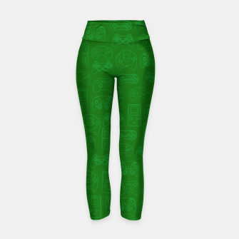 Miniatur Gamers' Controllers - Avocado Green Yoga Pants, Live Heroes