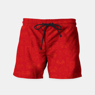 Miniaturka Gamers' Controllers - Rogue Red Swim Shorts, Live Heroes
