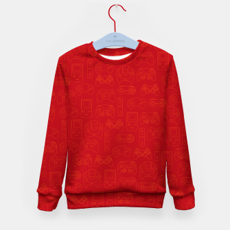 Miniatur Gamers' Controllers - Rogue Red Kid's Sweater, Live Heroes